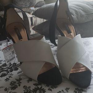 Zara Basic Collection strappy heels